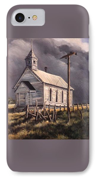 Closed On Sundays IPhone Case by Donna Tucker