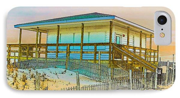 Closed Seaside Heights Boardwalk IPhone Case by Gary Keesler