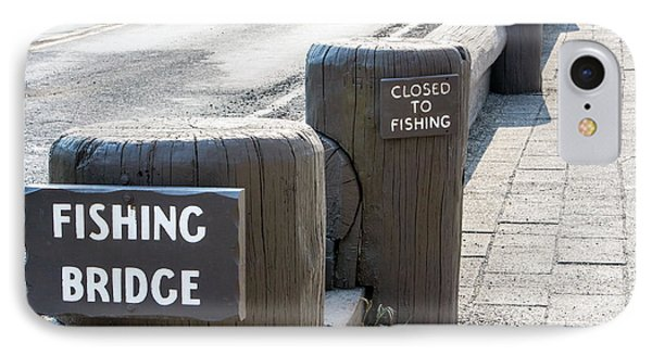 Closed To Fishing IPhone Case