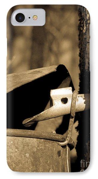 Closeup Of A Maple Tap IPhone Case