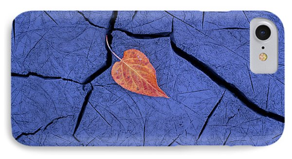 Closeup Of Autumn Colored Cottonwood Phone Case by Carl R. Battreall