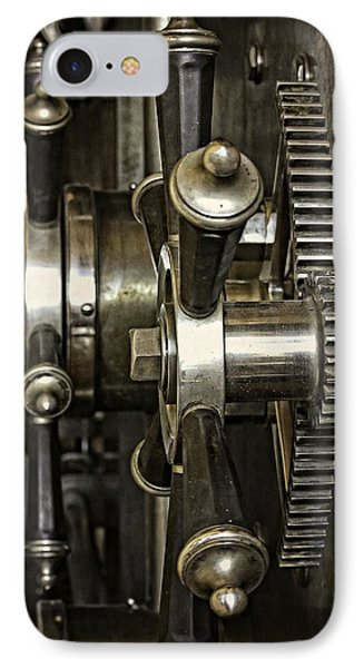 Closing The Vault Door IPhone Case by Image Takers Photography LLC - Carol Haddon