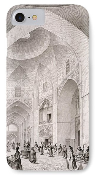 Cloth Market In Isfahan IPhone Case by Pascal Xavier Coste