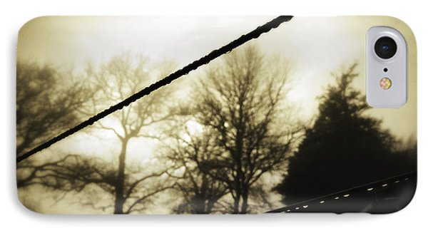 Clotheslines  IPhone Case by Les Cunliffe