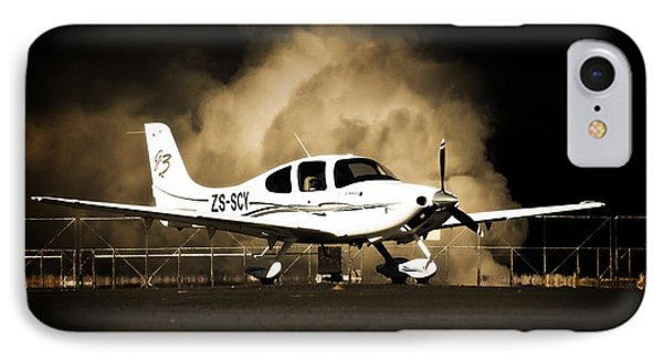 Cloud Cirrus IPhone Case by Paul Job
