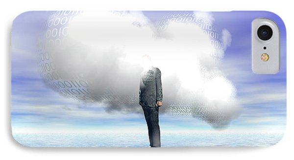 Cloud Computing IPhone Case by Carol & Mike Werner
