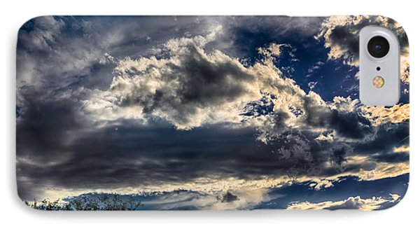 IPhone Case featuring the photograph Cloud Drama by Mark Myhaver