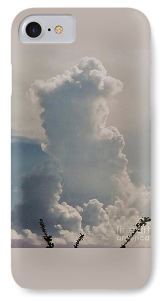 Cloud Faces In St. Thomas IPhone Case by Marcus Dagan