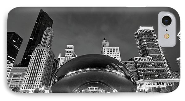 Cloud Gate And Skyline IPhone Case
