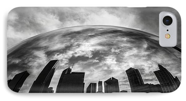 Cloud Gate Chicago Bean IPhone Case