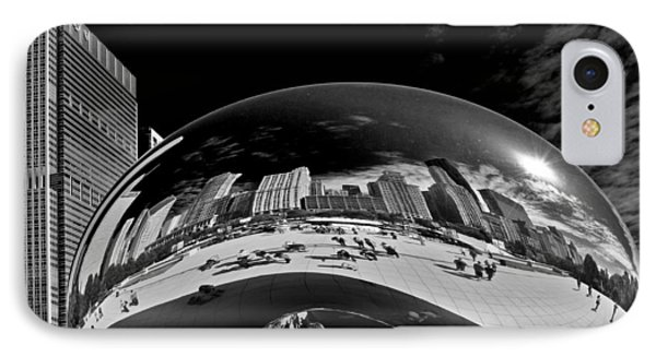 Cloud Gate Chicago - The Bean Phone Case by Christine Till
