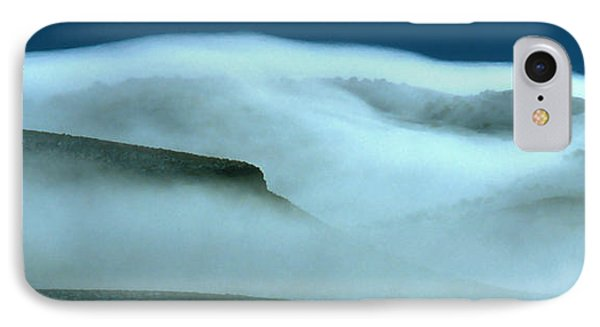 Cloud Mountain IPhone Case by Ed  Riche