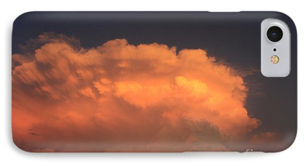 Cloud On Fire IPhone Case by Jerry Bunger
