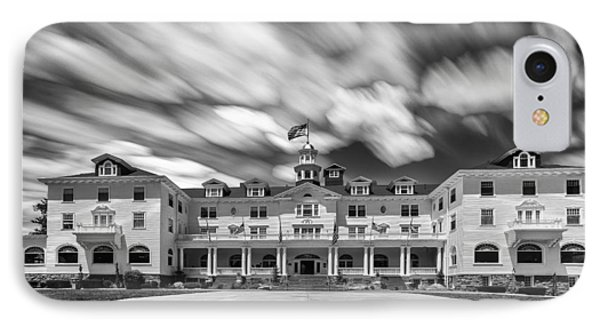 Cloud Painting At The Stanley Hotel IPhone Case by Tony Locke