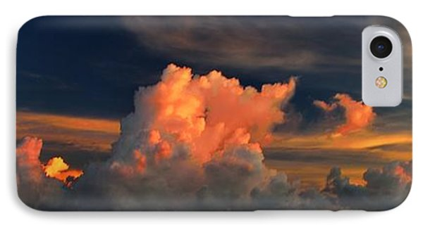 IPhone Case featuring the photograph Cloud Panorama by Richard Zentner