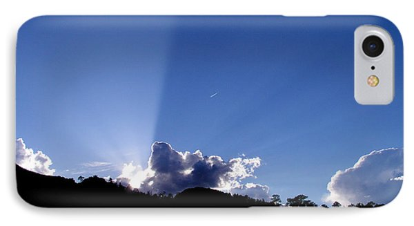 IPhone Case featuring the photograph Cloud Rays by Craig T Burgwardt