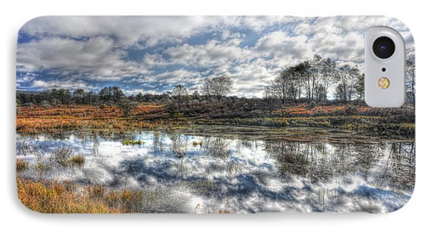 Cloud Reflections In Beaver Pond Canaan Valley Phone Case by Dan Friend