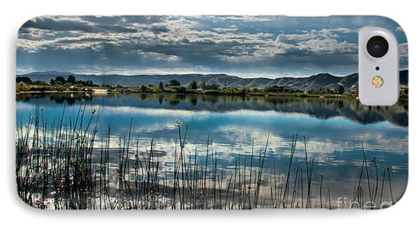 Cloud Reflections IPhone Case by Robert Bales