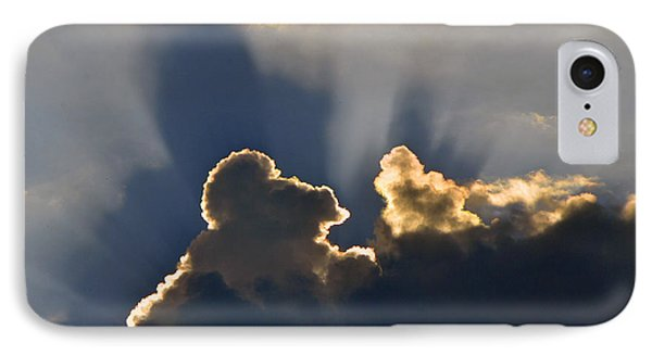 IPhone Case featuring the photograph Cloud Shadows by Charlotte Schafer