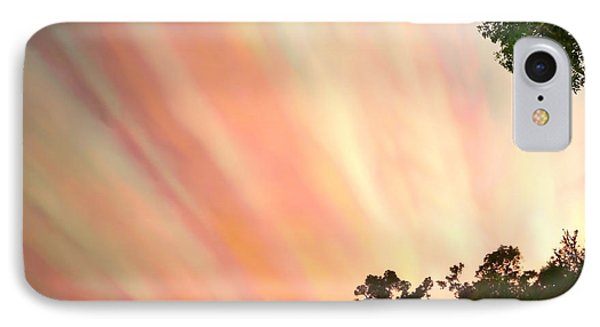 IPhone Case featuring the photograph Cloud Streams by Charlotte Schafer