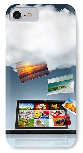 Cloud Technology IPhone Case by Carlos Caetano