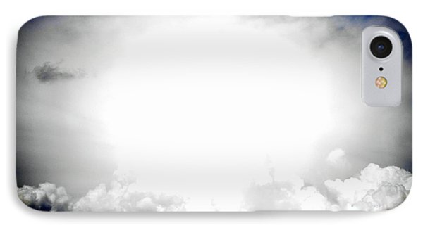 Cloudburst Sky Celestial Cloud Art Xl Resolution IPhone Case