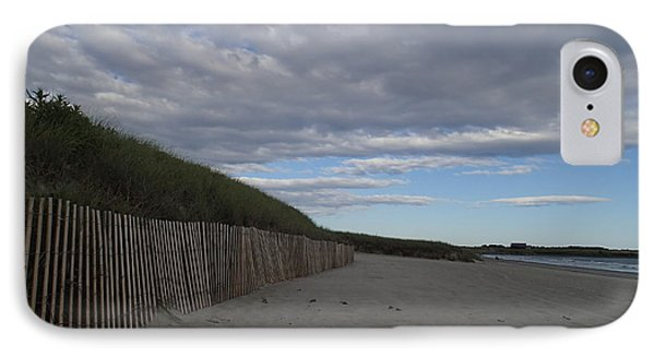Clouded Beach IPhone Case by Robert Nickologianis