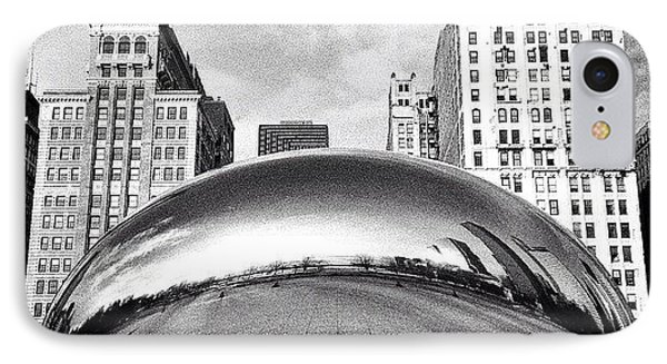 Chicago Bean Cloud Gate Photo IPhone Case by Paul Velgos