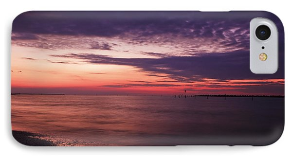 IPhone Case featuring the photograph Clouds After Sunset by Mohamed Elkhamisy