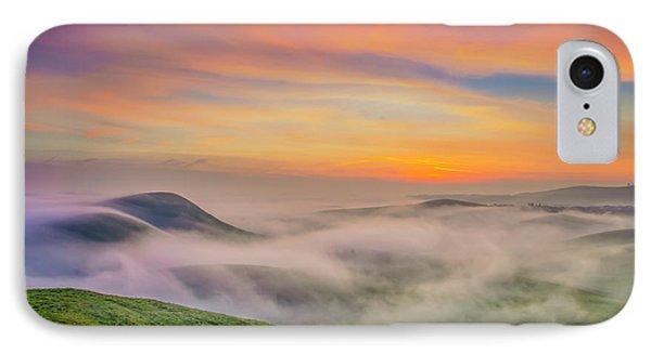 Clouds And Fog At Sunrise IPhone Case