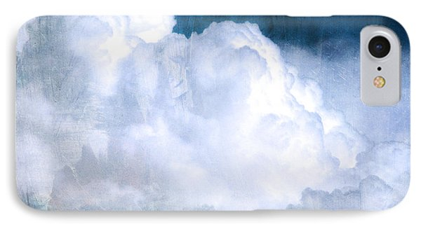 Clouds And Ice IPhone Case by Roselynne Broussard