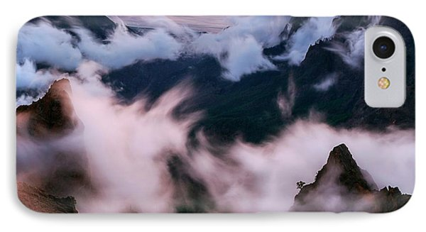 Clouds And Peaks IPhone Case