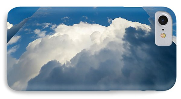 Clouds Ascending IPhone Case by Pete Trenholm
