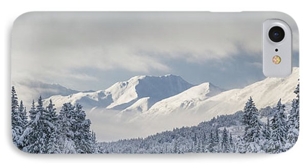 Clouds Clearing From The Kenai Phone Case by Kevin Smith