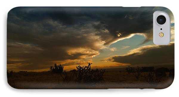 Clouds In New Mexico Phone Case by Jeff Swan