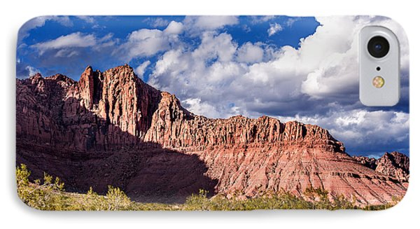 Clouds In Valley Of Fire Phone Case by  Onyonet  Photo Studios