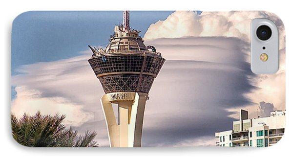 IPhone Case featuring the photograph Clouds Make Vegas by Michael Rogers