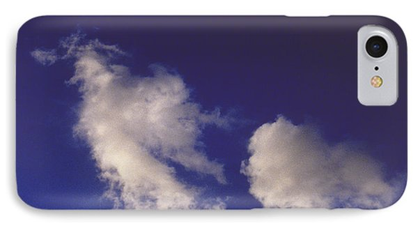 IPhone Case featuring the photograph Clouds by Mark Greenberg