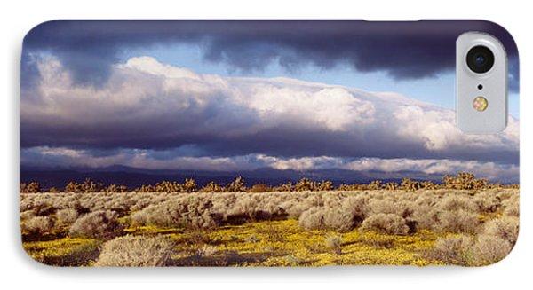 Clouds, Mojave Desert, California, Usa IPhone Case