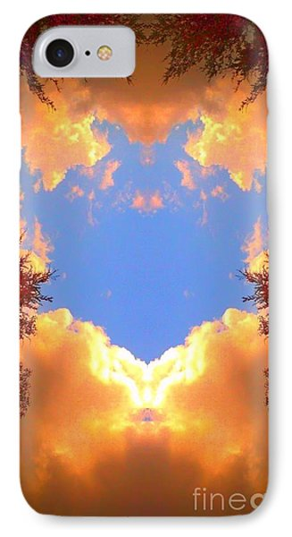 Clouds Of Gold IPhone Case by Karen Newell