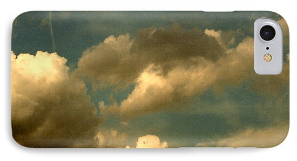 Clouds Of Yesterday IPhone Case by Anita Lewis