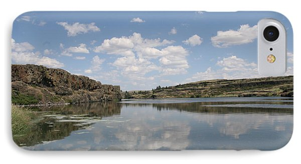 Clouds On Water IPhone Case by Rich Collins
