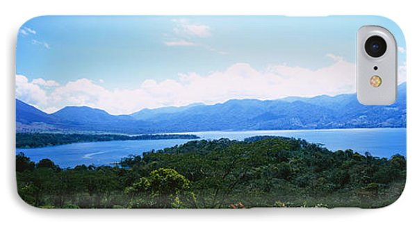 Clouds Over A Volcano, Arenal Volcano IPhone Case