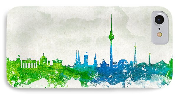 Clouds Over Berlin Germany IPhone Case by Aged Pixel