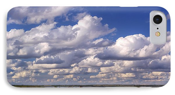 IPhone Case featuring the photograph Clouds Over Cheyenne Bottoms by Rob Graham