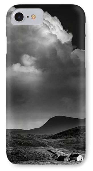 Clouds Over Clashnessie IPhone Case by Dave Bowman
