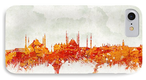 Clouds Over Istanbul Turkey Phone Case by Aged Pixel