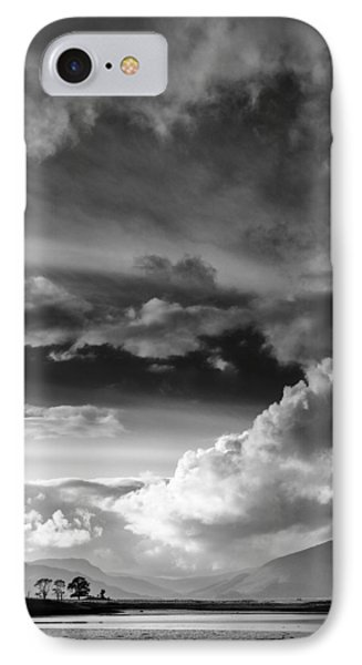 Clouds Over Loch Laich IPhone Case by Dave Bowman