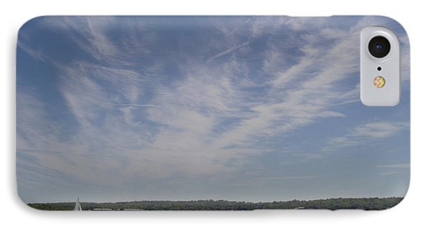 IPhone Case featuring the photograph Clouds Over Long Island Sound by John Telfer