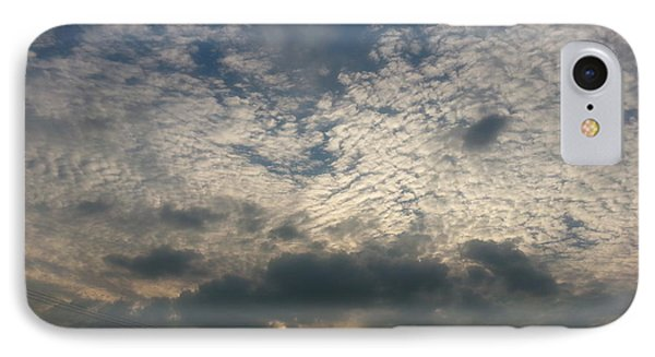 IPhone Case featuring the photograph Clouds Over Maryland by Emmy Marie Vickers